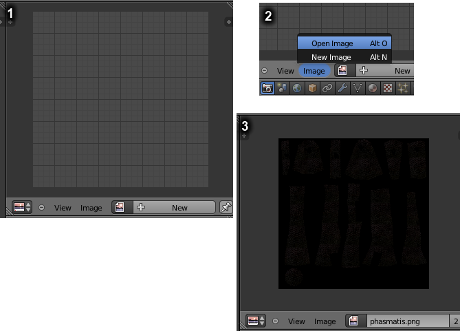 File:Previewing textures in Blender.png